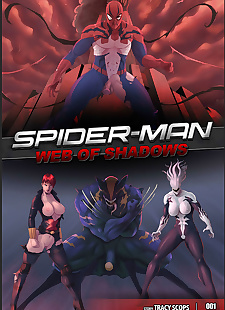 pics Tracy Scops- Web of Shadows, big boobs , hardcore  spiderman