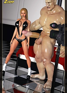 pics Zzomp- Blonde and The Giant, 3d , big boobs