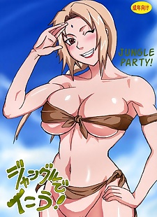 pics Naruto- Jungle Party, big boobs , hardcore