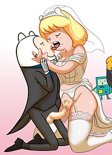 pics Finn and Minerva Wedding, finn the human , minerva campbell , incest  impregnation