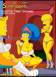 pics THE SIMPSONS 11 Toilette trés intimes., bart simpson , marge simpson , blowjob  cheating