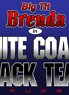 english pics Big Tit Brenda - White Coach Black Team, milf , dark skin