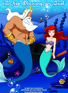 english pics A New Discovery for Ariel, ariel , ursula , full color , ariel
