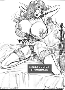 pics Collected artwork of Julius Zimmerman, power girl , jessica rabbit , dark skin , yuri  aladdin