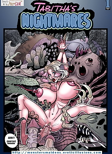 english pics Tabithas Nightmare, full color  monster