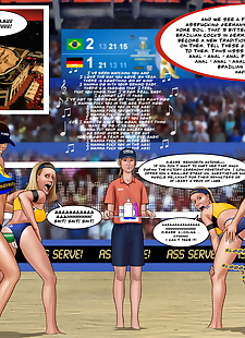 pics Extro- FIVB Beach Volleyball Women's.., 3d , full color