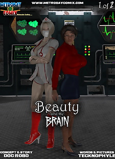 pics Metrobay- Beauty and the Brain #1-.., 3d , big boobs