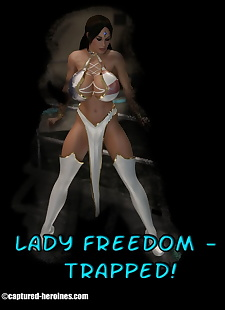 pics Captured Heroines- Lady Freedom Trapped, 3d , big boobs