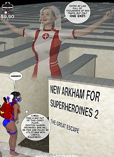 pics DBComix- New Arkham for Superheroines.., 3d , bondage