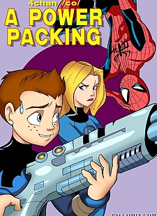 pics A Power Packing- Pal Comix, group  superheros