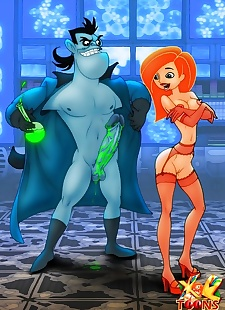pics Dr. Drakken and Kim Possible, big boobs , kim possible