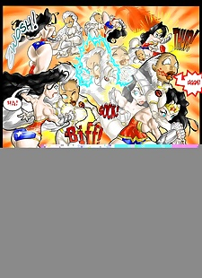 pics Wonder Woman vs Storm- DC vs Marvel, XXX Cartoons