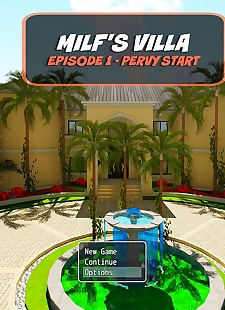 pics Brother- Sister Milf's Villa – Ellis, 3d , incest