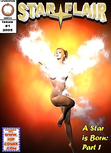 pics Star Flair- A Star is Born Issue 1, 3d , big boobs