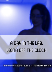 pics SergeantBuck- A Day In The Lab- Leona.., 3d , big boobs