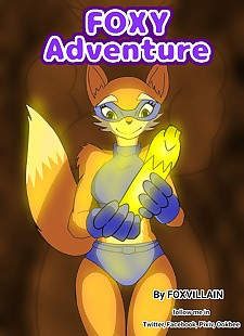 pics FoxVillain- Foxy Adventure, big boobs , full color