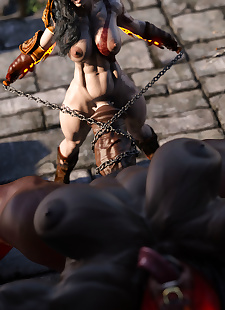 pics SquarePeg3D-Krata  Goddess of Whore, 3d , big boobs