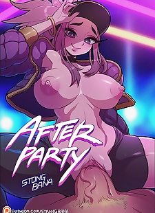 pics Strong Bana- After Party, big boobs , big cock