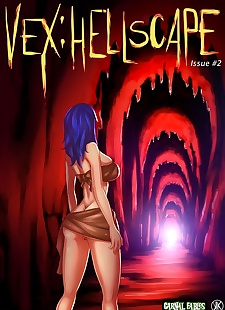 pics Kinkamashe- Vex – Hellscape 2, big boobs , full color