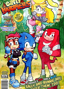 pics Early Boomers, sonic the hedgehog , bunnie rabbot , full color , furry