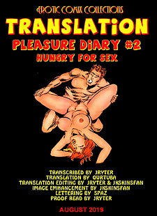 english pics PLEASURE DIARY #2 - HUNGRY FOR SEX - A.., XXX Cartoons
