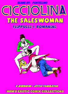 english pics CICCIOLINA - THE SALESWOMAN - A.., XXX Cartoons
