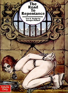 english pics The Road to Repentance, bondage , full color