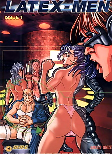 english pics LateX-Men, psylocke , mystique , dark skin , full color