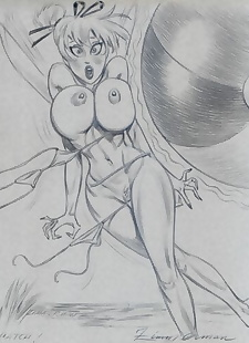 pics Collected artwork of Julius Zimmerman.., jessica rabbit , lady death , tomb raider , star wars