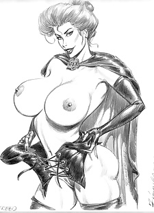 pics Collected artwork of Julius Zimmerman, jessica rabbit , lady death , tomb raider , star wars