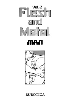 english pics Flesh & Metal - Volume #2, anal , group