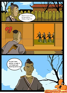 english pics Avatar the Last Airbender, sokka , suki , dark skin , anal