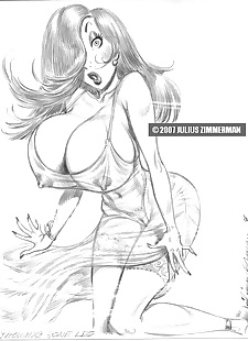 pics Collected artwork of Julius Zimmerman.., jessica rabbit , jasmine , yuri , star wars