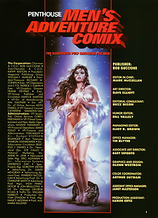 english pics Penthouse Mens Adventure Comix #5, full color