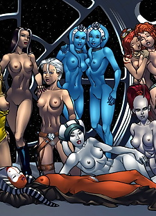 pics My Favorite pic Star Wars - part 2, aayla secura , ahsoka tano , dark skin , star wars