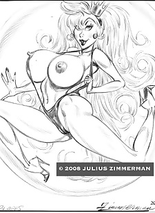 pics Collected artwork of Julius Zimmerman.., power girl , jessica rabbit , dark skin , yuri  aladdin