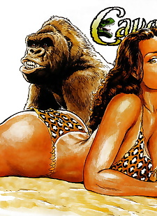 english pics Cavewoman - Prehistoric Pinups #6, XXX Cartoons