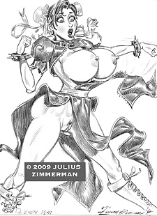 pics Collected artwork of Julius Zimmerman.., XXX Cartoons