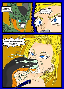 english pics Geros Lab, android 18 , cell , full color , rape