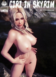 pics Tinkerbomb- Ciri in Skyrim, big boobs , big cock
